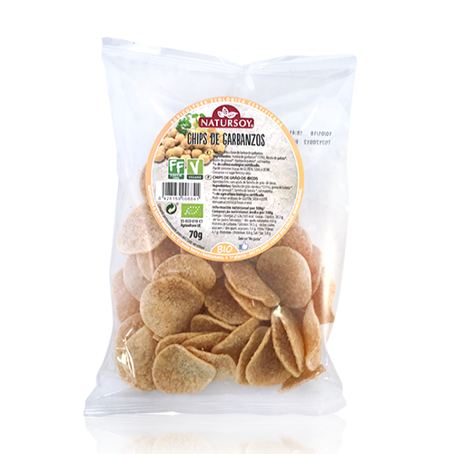 Chips Garbanzos (70 g) Natursoy
