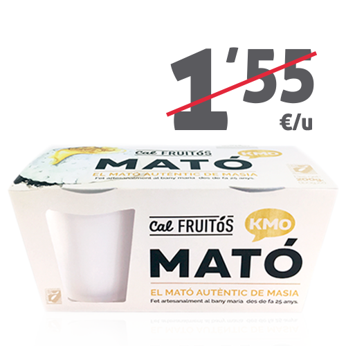 Mató Cal Fruitós/ pack (2x100 g)