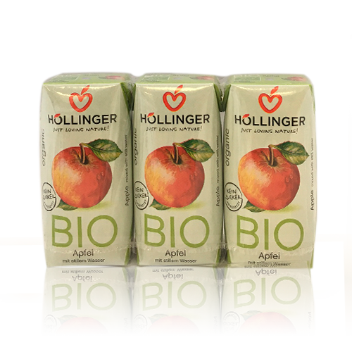 Zumo de Manzana Bio Pack3 (200ml) Hollinger