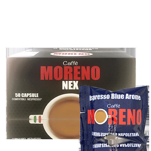 Cafè Blue Arome (50 u.) Moreno
