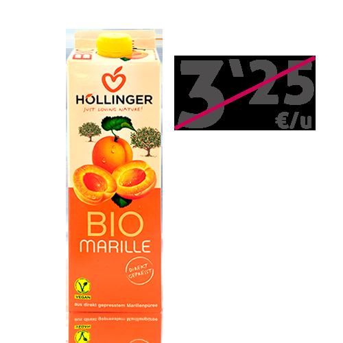 Néctar de Albaricoque Bio (1l) Hollinger