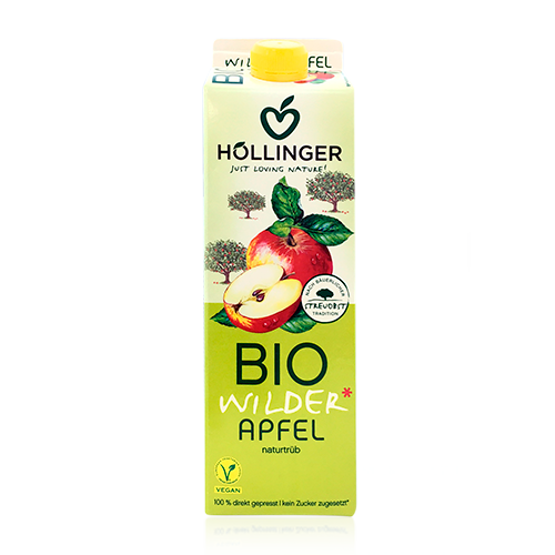 Suc de Poma Bio (1 l) Hollinger