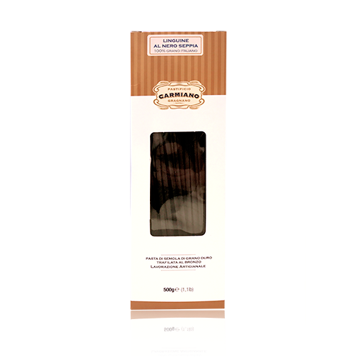 Linguine al Nero Seppia (500 g) Carmiano
