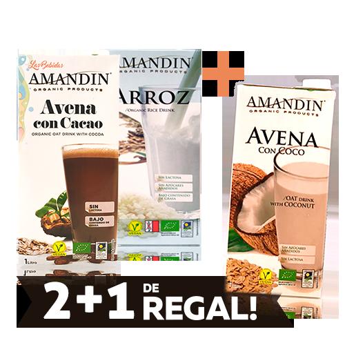 Promoción Bebidas Vegetales Bio Amandin