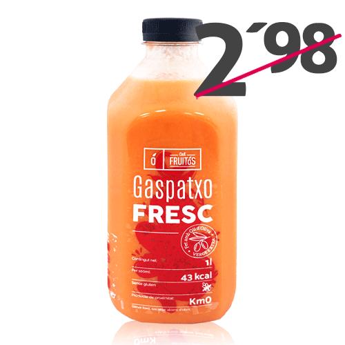 Gaspatxo Fresc (1 l) Cal Fruitós