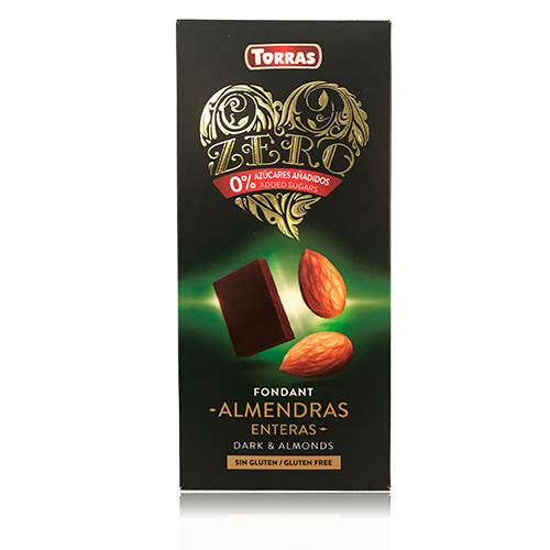 Xocolata Negra d'Ametlla Sencera Zero