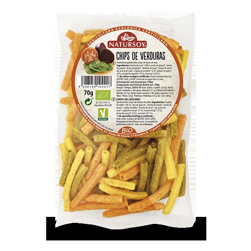 Chips de Verduras (70 g) Natursoy