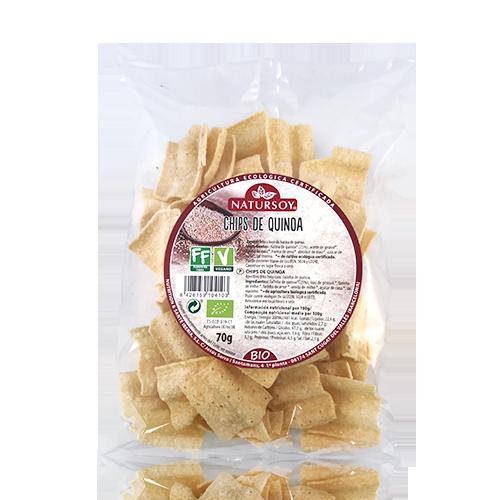 Xips Quinoa (70 g) Natursoy