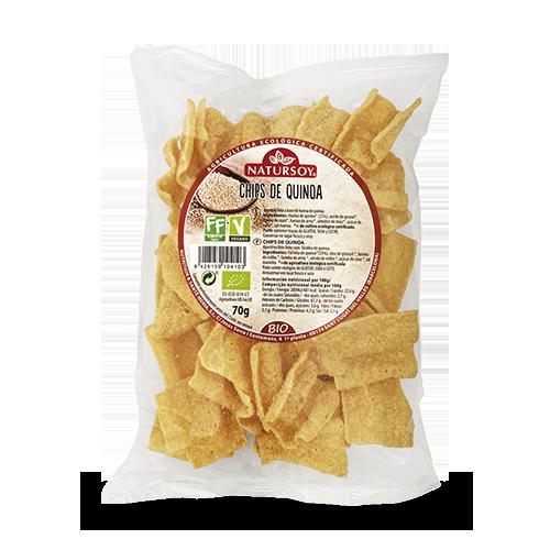 Chips Quinoa (70 g) Natursoy