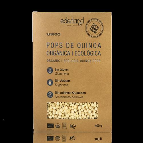 Cereales de Quinoa Ecológica Pop (400 g) Ederland