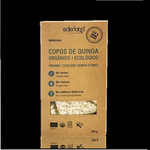 Copos de Quinoa Ecológica (250 g) Ederland