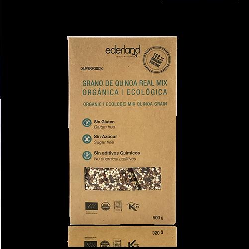 Quinoa Mix en Grà Ecològica (500 g) Ederland