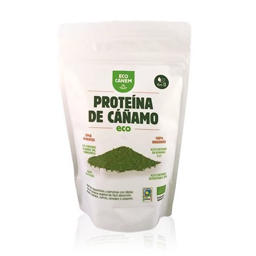 Proteïna de Cànem en Pols EcoCanem
