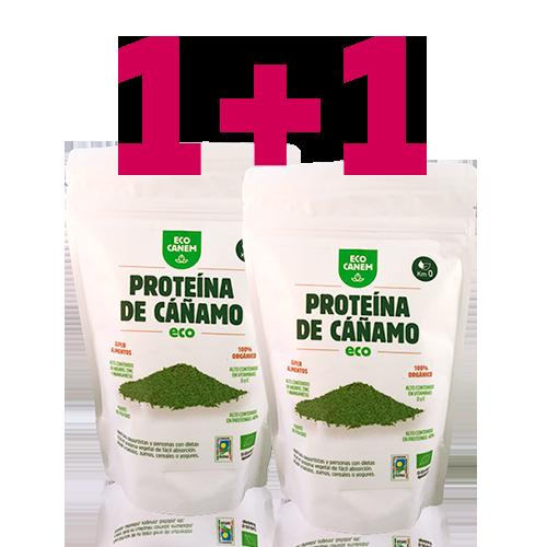 1+1 Proteïna de Cànem en Pols EcoCanem