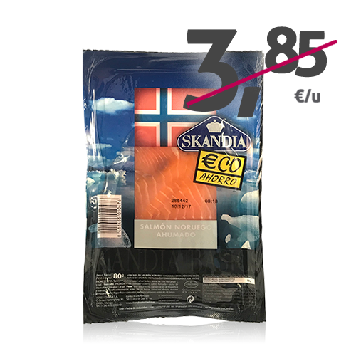 Salmó Bàsic (80 g) Skandia