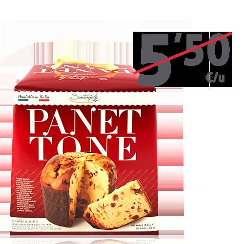 Panettone Clásico (900 g) Santangelo