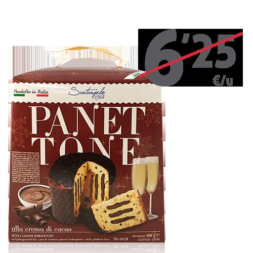 Panettone Farcito Cioccolato (900 g) Santangelo