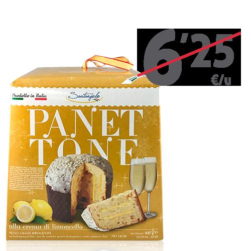 Panettone Limón (900 g) Santangelo
