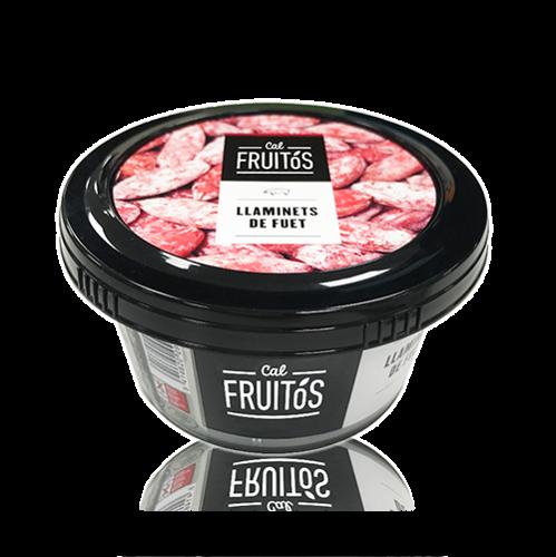 Láminas de Fuet (100 g) Cal Fruitós