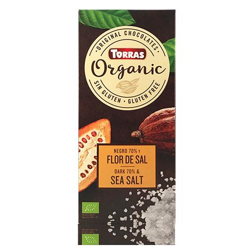 Xocolata Orgànic Negre 70% Flor de Sal