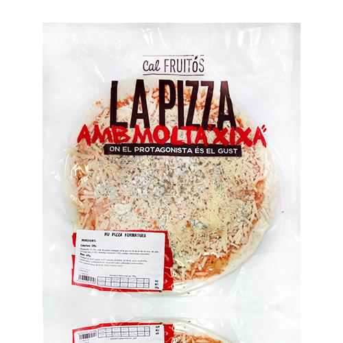 Pizza Formatge 30cm (350 g) Cal Fruitós