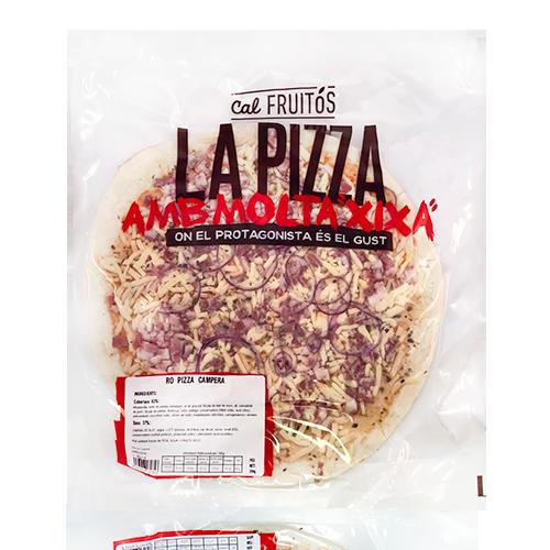 Pizza Campera y Cebolla 30cm Cal Fruitós (410 g)