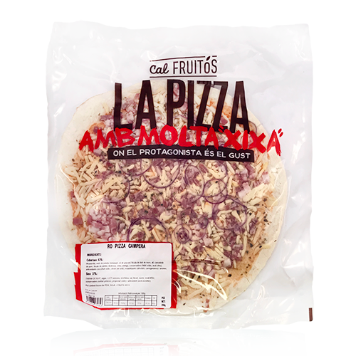 Pizza Campera i Ceba 30cm (410 g) Cal Fruitós