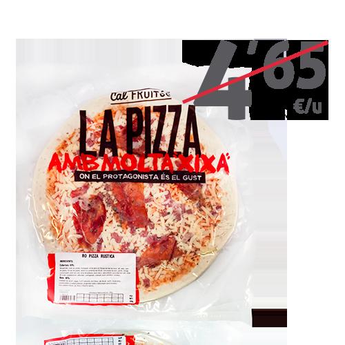 Pizza Rústica 30cm Cal Fruitós (380 g)