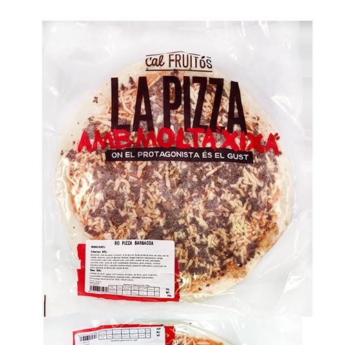 Pizza Barbacoa 30cm Cal Fruitós (360g)