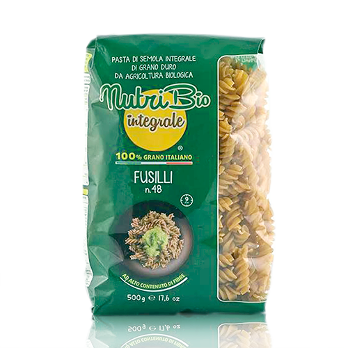 Fusilli Intregal (500 g) Nutribio
