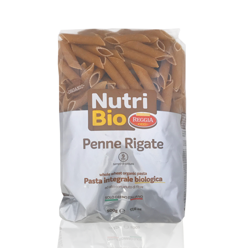 Penne Rigate Integral (500 g) Nutribio