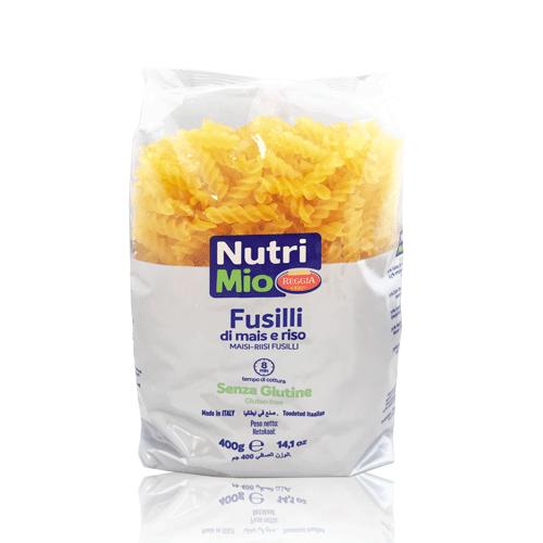 Fusilli sin gluten (400 g) Nutrimio