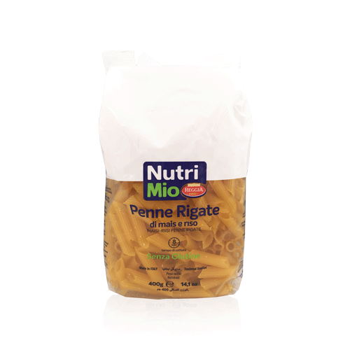 Penne Rigate sense gluten (400 g) Nutrimio