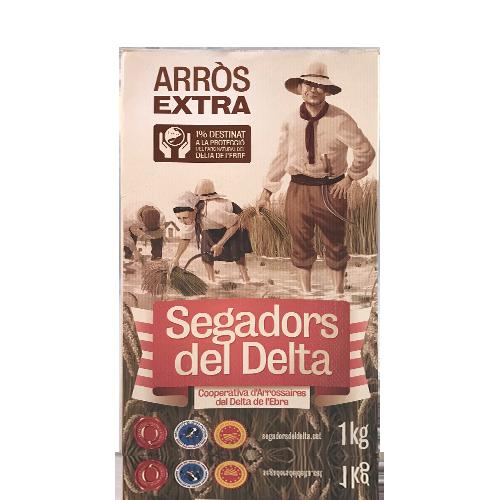 Arròs Extra (1 kg) Segadors del Delta