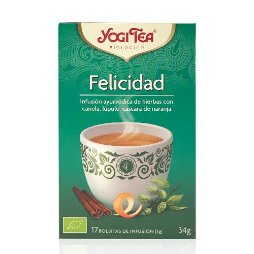 Infusió Felicitat Yogi Tea