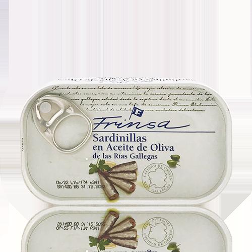 Sardineta en Oli d´Oliva (120 g) Frinsa