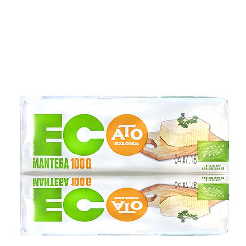 Mantequilla Tradicional Eco para Untar (100 g) Ato