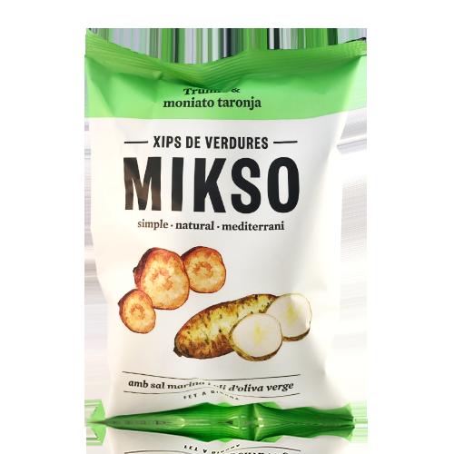 Chips de Patata y Moniato Naranja Mikso (85g)