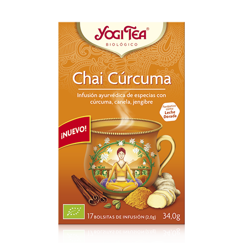 Cúrcuma Chai Yogi Tea