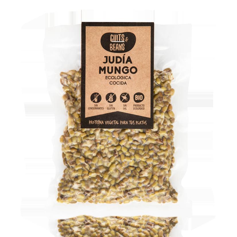 Judía Mungo Ecológica Cocida (200g) Cuits&Beans