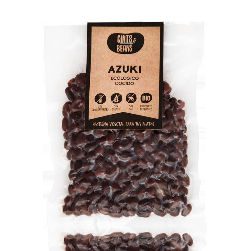 Azuki Ecológico Cocido (200g) Cuits & Beans