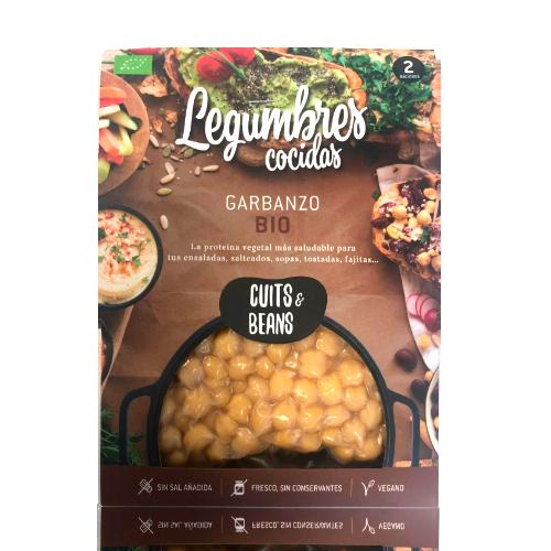 Garbanzo Ecológico Cocido (200 g) Cuits & Beans