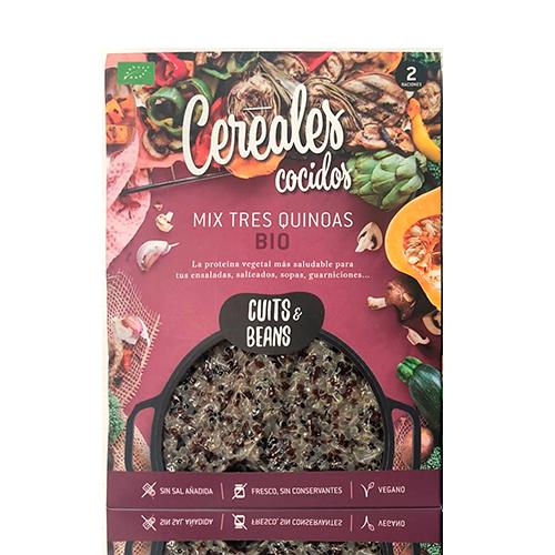 Mix Quinoa Ecológica Cocida (200 g) Cuits & Beans