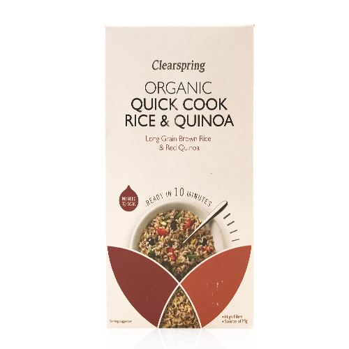 Quick Cook  Rice & Quinoa (250g) Clearspring