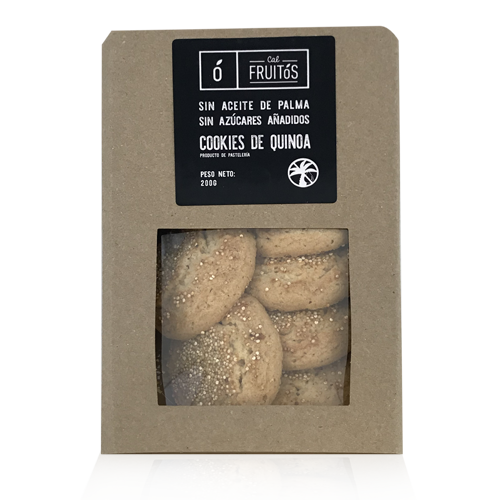 Cookies de Quinoa (230 g) Cal Fruitós