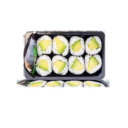 Sushi Maki d'Alvocat 8u