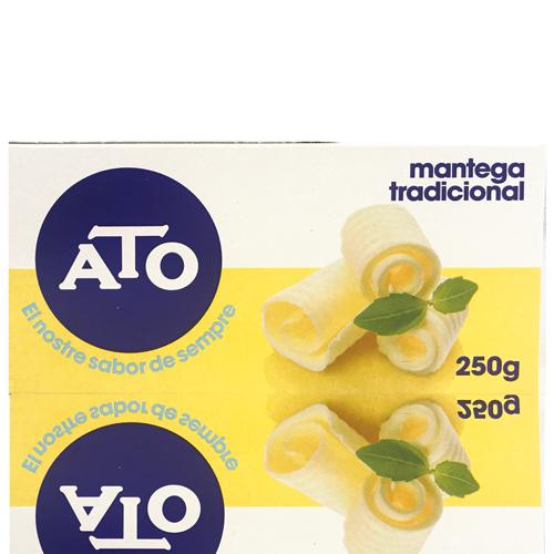 Mantequilla Tradicional para untar (250 g) Ato