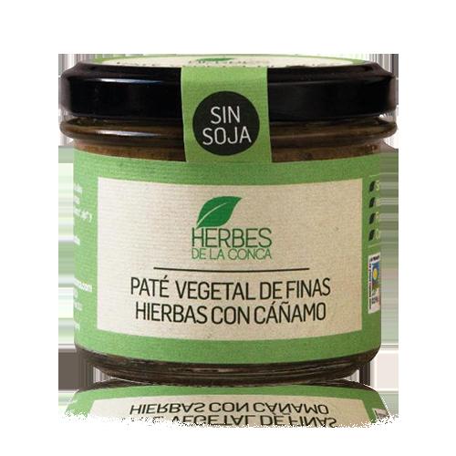 Paté de Finas Hierbas con Cáñamo Vegetal (110 g) Herbes de la Conca