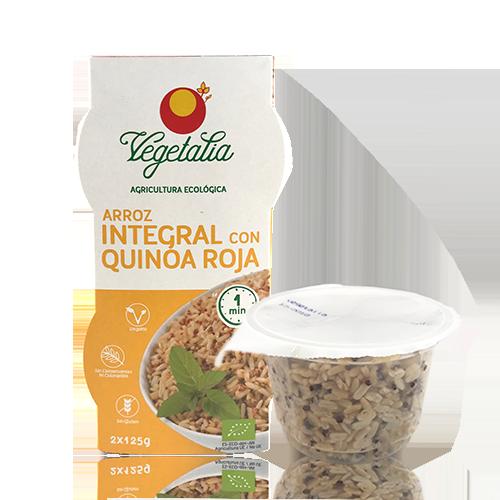 Arroz Integral y Quinoa Roja (2x125 g) Vegetalia