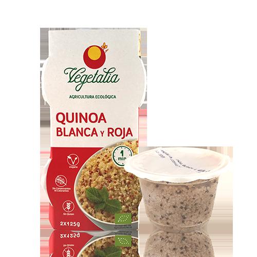 Quinoa Blanca y Roja Ecológica (2x125 g) Vegetalia